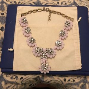 JCrew statement necklace in Pink